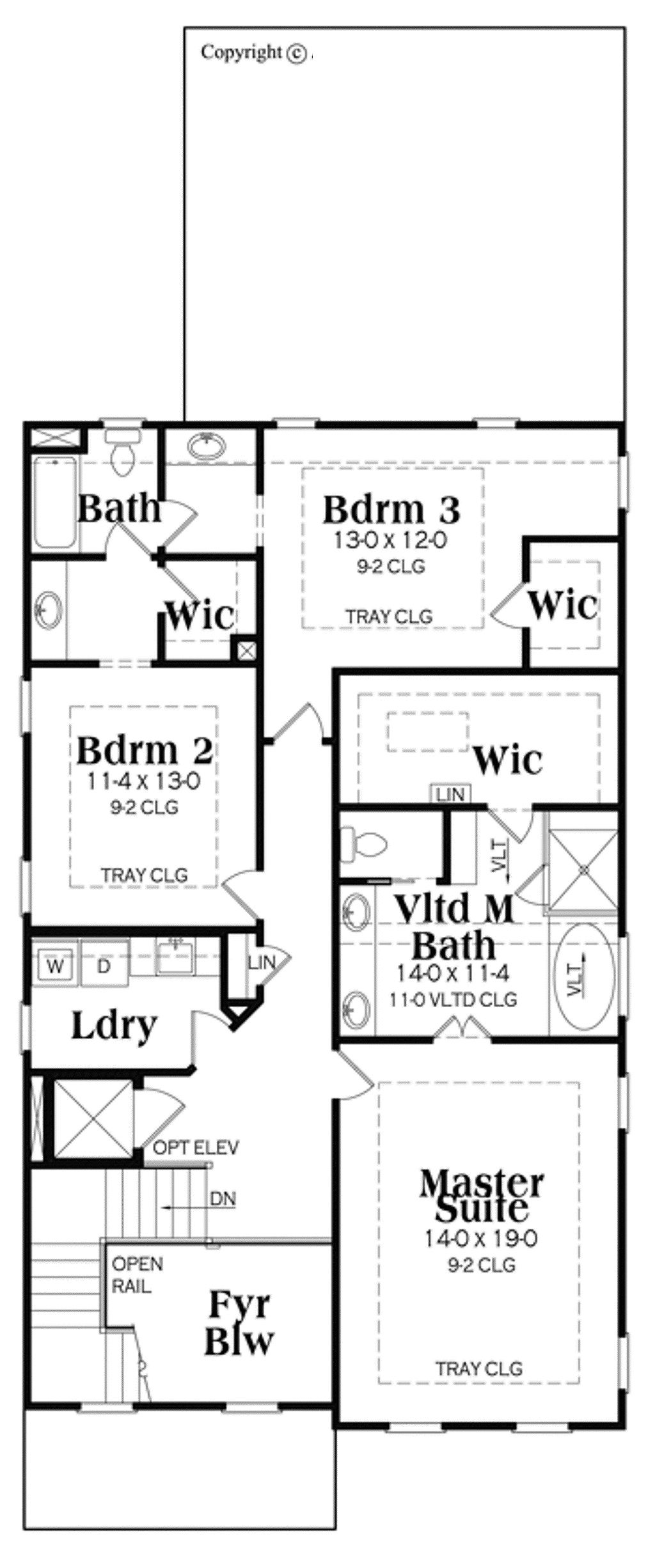 Craftsman Style House Plan 3 Beds 4 Baths 3391 Sq Ft