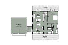 Farmhouse Floor Plan - Main Floor Plan Plan #497-8