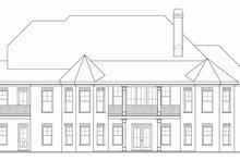 Craftsman Exterior - Rear Elevation Plan #419-132