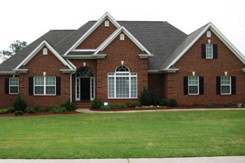 House Plan Design - European Exterior - Front Elevation Plan #437-31