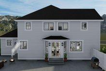 Architectural House Design - Craftsman Exterior - Rear Elevation Plan #1060-65
