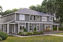 Architectural House Design - Craftsman Exterior - Rear Elevation Plan #1066-26