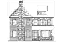 Colonial Exterior - Other Elevation Plan #419-251