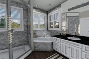 Ranch Style House Plan - 2 Beds 2 Baths 1767 Sq/Ft Plan #1060-2 Interior - Master Bathroom