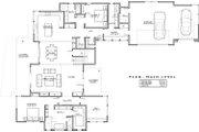Modern Style House Plan - 4 Beds 4 Baths 3712 Sq/Ft Plan #892-17 Floor Plan - Main Floor Plan