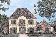 Home Plan - European Exterior - Front Elevation Plan #301-109