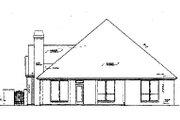 Tudor Style House Plan - 2 Beds 2 Baths 1889 Sq/Ft Plan #310-481 Exterior - Rear Elevation