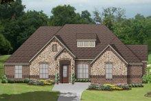 House Plan Design - European Exterior - Front Elevation Plan #84-608