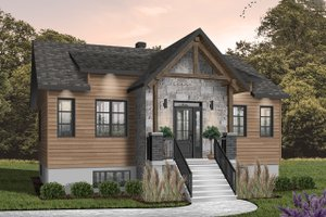 Dream House Plan - Farmhouse Exterior - Front Elevation Plan #23-2716