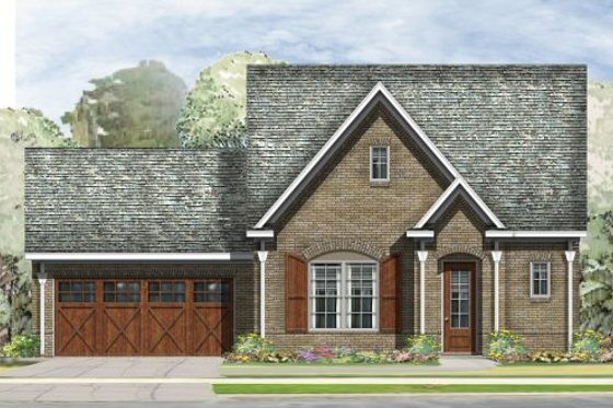 Traditional Exterior - Front Elevation Plan #424-278