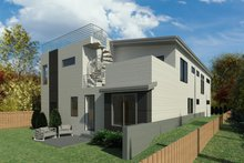 Contemporary Exterior - Other Elevation Plan #1066-120