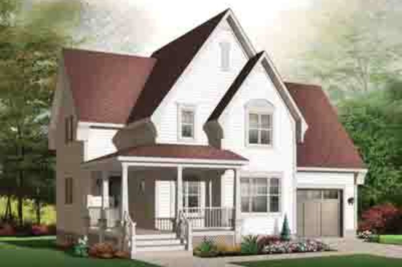 Southern Exterior - Front Elevation Plan #23-625 - Houseplans.com