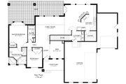 Ranch Style House Plan - 2 Beds 2 Baths 1767 Sq/Ft Plan #1060-2 Floor Plan - Main Floor Plan