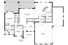 Ranch Floor Plan - Main Floor Plan Plan #1060-2