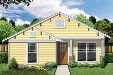 Cottage Exterior - Front Elevation Plan #84-495