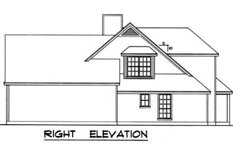 Country Exterior - Other Elevation Plan #40-329 - Houseplans.com
