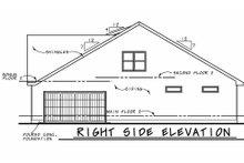 Dream House Plan - Farmhouse Exterior - Other Elevation Plan #20-2411