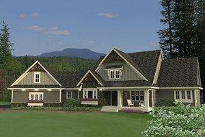 Craftsman Exterior - Front Elevation Plan #51-553
