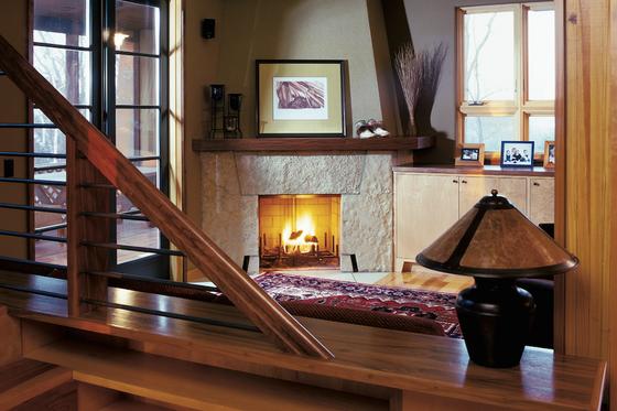 Contemporary Interior - Family Room Plan #573-2