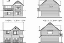 Country Exterior - Rear Elevation Plan #47-516