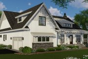 Farmhouse Style House Plan - 4 Beds 3.5 Baths 2480 Sq/Ft Plan #51-1144 Exterior - Front Elevation