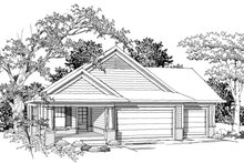 Dream House Plan - Ranch Photo Plan #70-1019