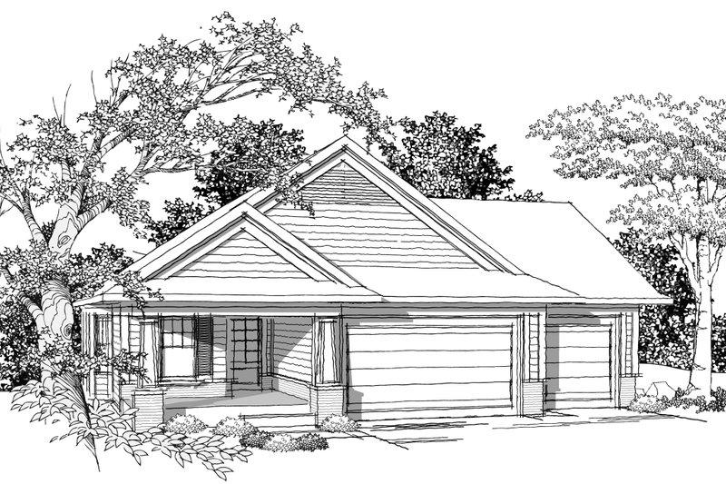 Ranch Photo Plan #70-1019 - Houseplans.com