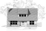 Bungalow Style House Plan - 3 Beds 2.5 Baths 2279 Sq/Ft Plan #423-24 Exterior - Front Elevation