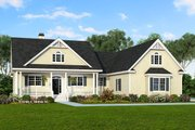 Country Style House Plan - 3 Beds 2 Baths 1905 Sq/Ft Plan #929-8 Exterior - Front Elevation