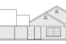 Traditional Exterior - Other Elevation Plan #124-857