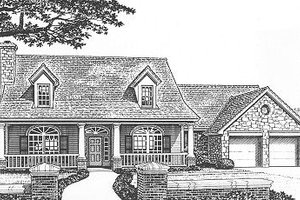 Traditional Exterior - Front Elevation Plan #310-621