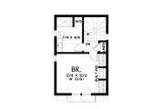Contemporary Style House Plan - 4 Beds 3.5 Baths 2947 Sq/Ft Plan #48-1023 Floor Plan - Upper Floor