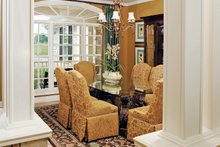 Architectural House Design - Country Interior - Dining Room Plan #929-13