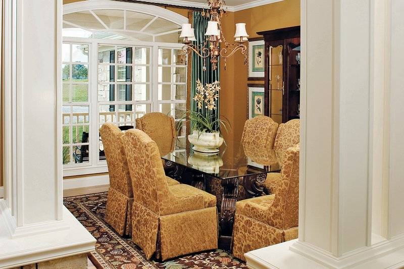 Country Interior - Dining Room Plan #929-13 - Houseplans.com
