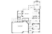 Traditional Floor Plan - Main Floor Plan Plan #132-569