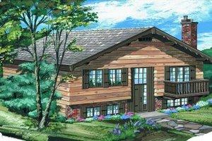 Bungalow Exterior - Front Elevation Plan #47-396