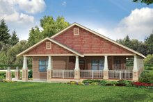 Home Plan - Cottage Exterior - Front Elevation Plan #124-950