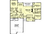 Traditional Style House Plan - 4 Beds 2 Baths 1750 Sq/Ft Plan #430-57 Floor Plan - Main Floor