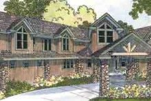 Craftsman Exterior - Front Elevation Plan #124-455