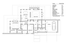 Modern Floor Plan - Main Floor Plan Plan #552-4