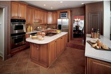 Dream House Plan - Country Interior - Kitchen Plan #929-12
