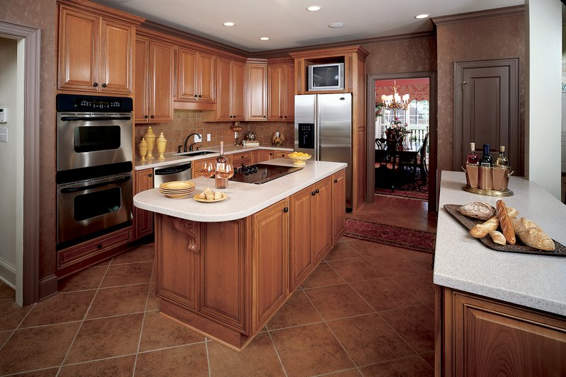 Country Interior - Kitchen Plan #929-12 - Houseplans.com