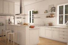 modern farmhouse kitchen elevation