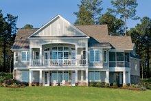 House Plan Design - European Exterior - Rear Elevation Plan #929-4
