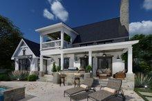Dream House Plan - Farmhouse Exterior - Rear Elevation Plan #120-272
