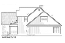 Dream House Plan - Craftsman Exterior - Other Elevation Plan #17-2131
