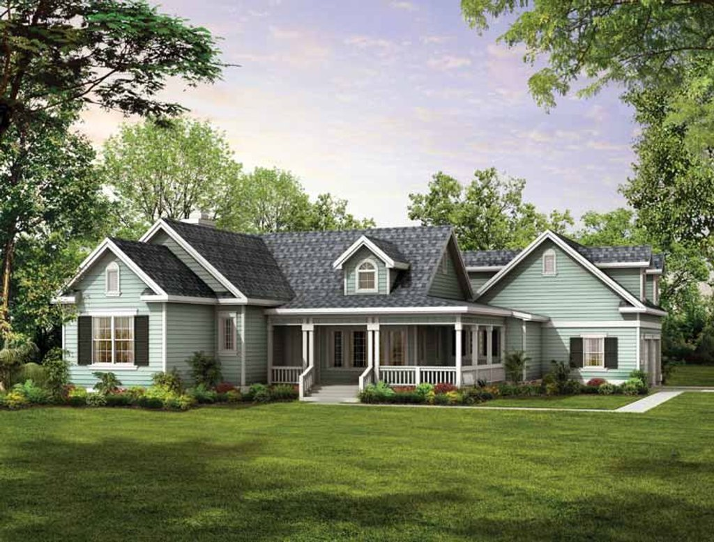 Country style house plan 3 beds 2 baths 1937 sq ft plan for Www eplans com