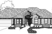 Traditional Style House Plan - 5 Beds 3 Baths 3313 Sq/Ft Plan #24-192 Exterior - Front Elevation