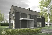 Modern Style House Plan - 3 Beds 2.5 Baths 1752 Sq/Ft Plan #552-3