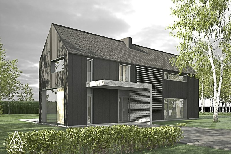 House Plan Design - Modern Barn Plans